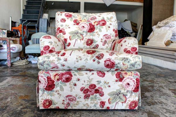 Chair Project Reupholstered in Van Nuys CA