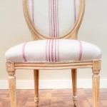Chair reupholstered Van Nuys California