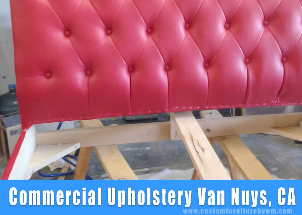 Commercial upholstery Van Vuys California