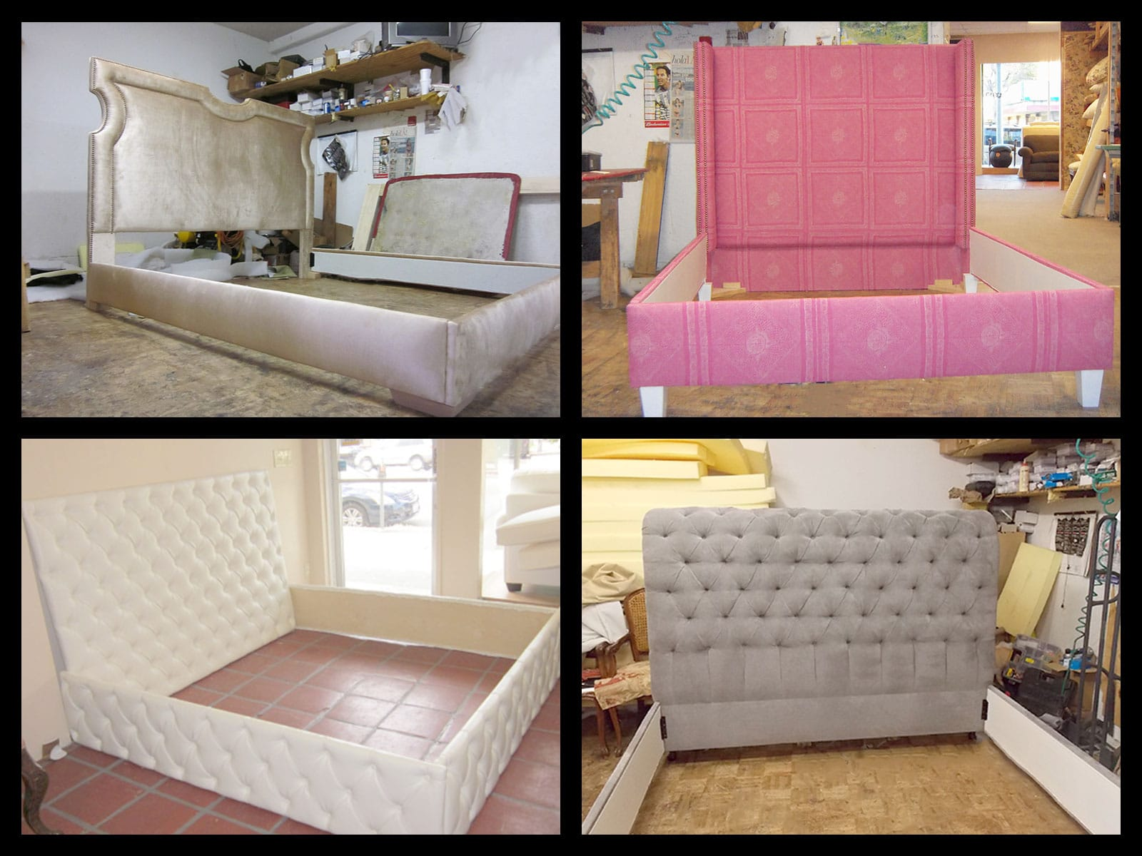 Upholstered headboards van nuys california furniture for Furniture upholstery