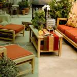 Custom made patio cushions Van Nuys California