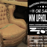 Mid century sofa and chair upholstery and reupholstery in Los Angeles. Old school upholstery shop Los Angeles, Van Nuys and Sherma Oaks California