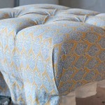 Ottoman Reupholstered by WM Design in Van Nuys