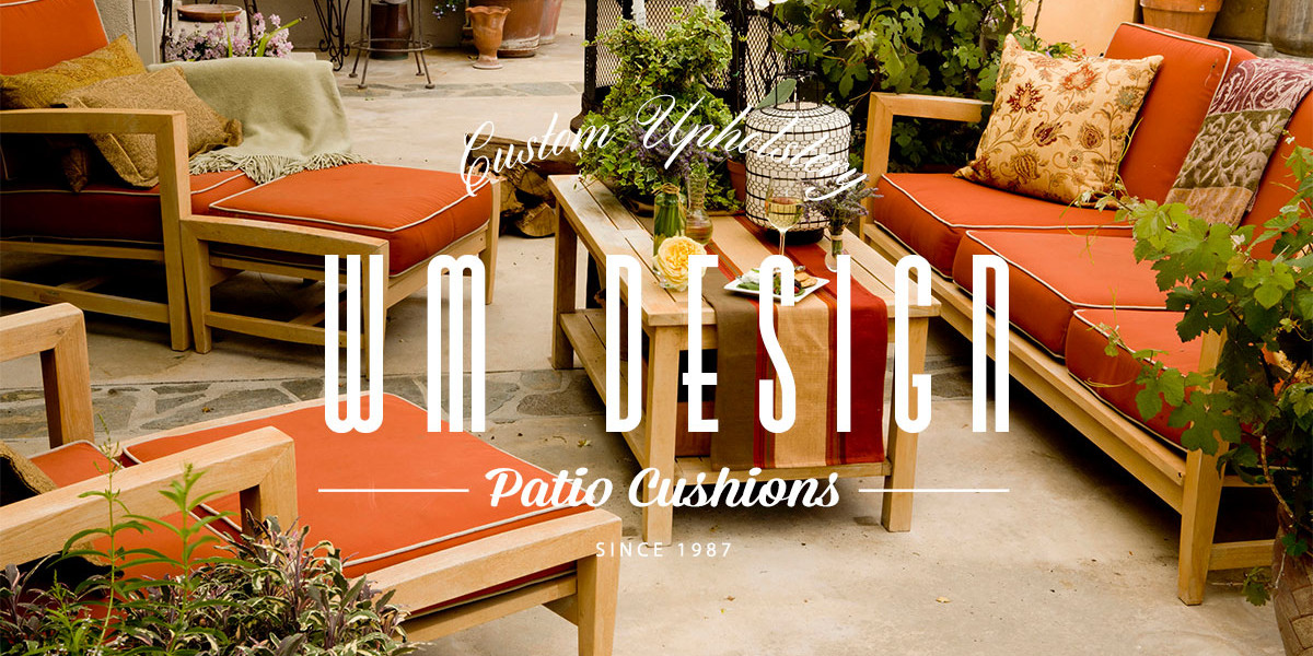 PATIO CUSHIONS REPLACEMENT