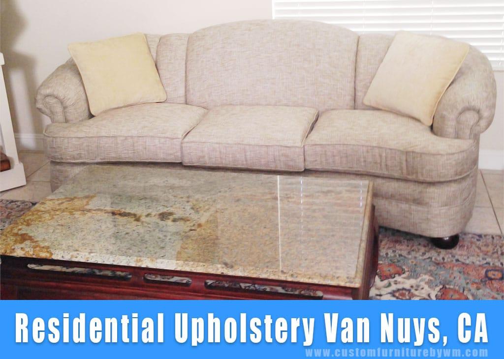 Residential upholstery Van Nuys California