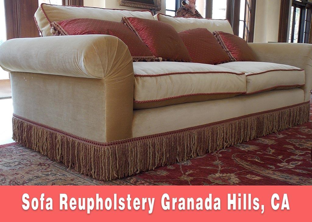 Sofa Reupholstery Granada Hills California