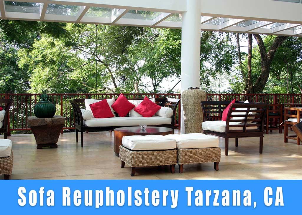 Sofa reupholstery Tarzana California. Sofa refinishing Tarzana CA.
