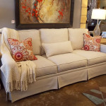 Sofa slipcover replacement custom made in Sherman Oaks, Los Angeles and Van Nuys CA