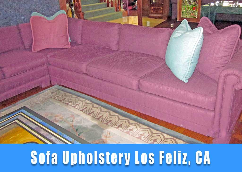 Sofa upholstery Los Feliz California