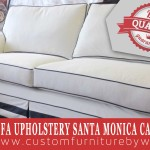 Sofa upholstery in Santa Monica California. Custom made sofas by WM Upholstery